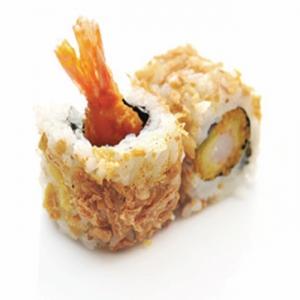 CA16 Oignon croustillant Tempura crevette
