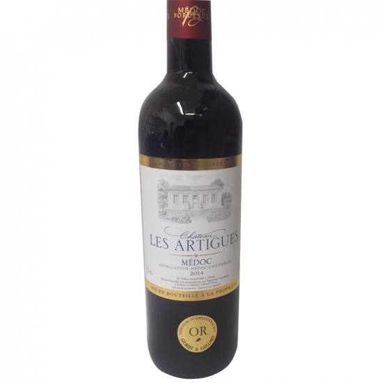 A23 Vin rouge artigues